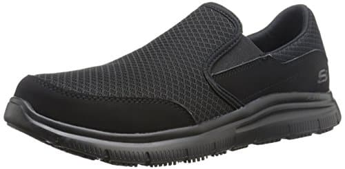Skechers for Work Men's Flex Advantage Slip Resistance Mcallen Slip On