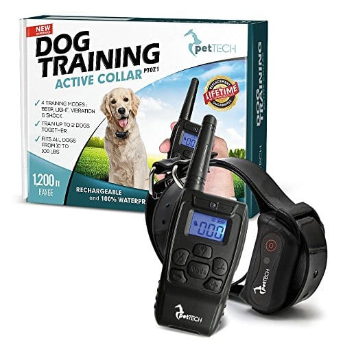 PT0Z1 Premium Dog Training Shock Collar by PetTech