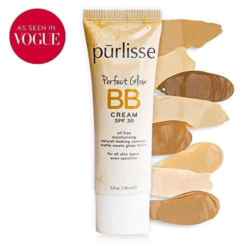Purlisse BB Tinted Moisturizer Cream SPF 30 -BB Cream for all Skin Types