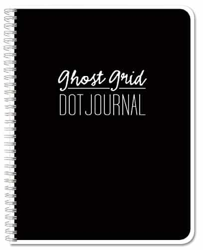 BookFactory Ghost Grid Dot Journal