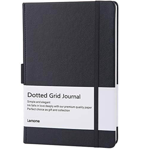 Dotted Bullet Notebook with Pen Loop