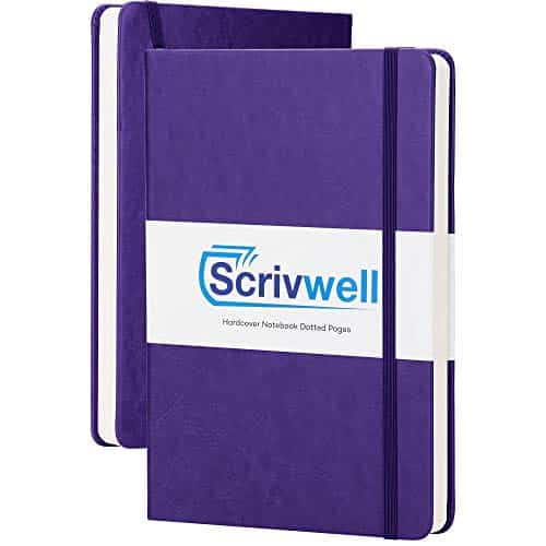 Scrivwell Dotted A5 Hardcover Notebook