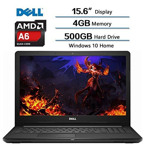 2018 Dell Inspiron 15.6 IN HD Widescreen LED Laptop