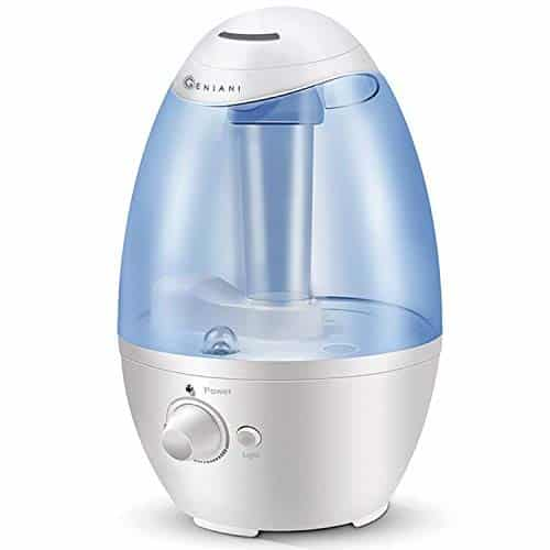 The Ultrasonic Cool Mist Humidifier