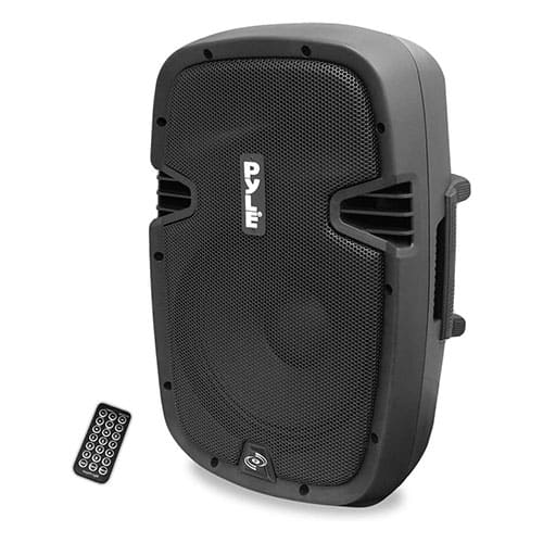 Powered Active PA Loudspeaker Bluetooth System