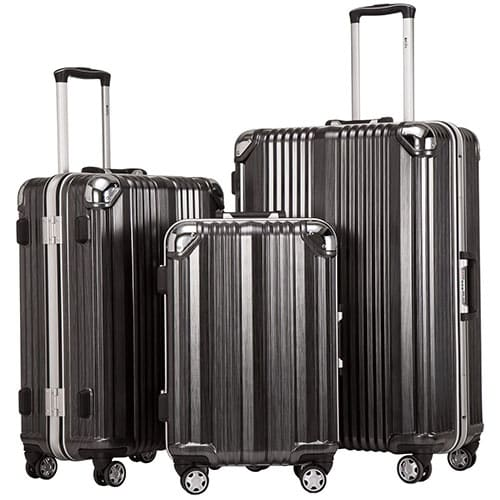 Coolife Luggage Aluminium Frame 100% PC