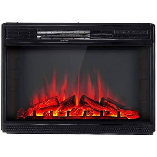 AMERLIFE Electric Fireplace Insert 28
