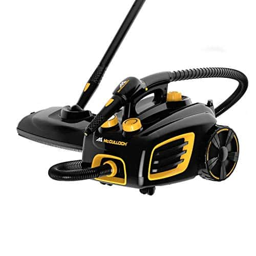 McCulloch MC1375 Canister Steam Cleaner with 20 Accessories