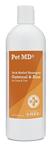 PetMD - Oatmeal Dog Shampoo Cats and Dogs for Itch Relief
