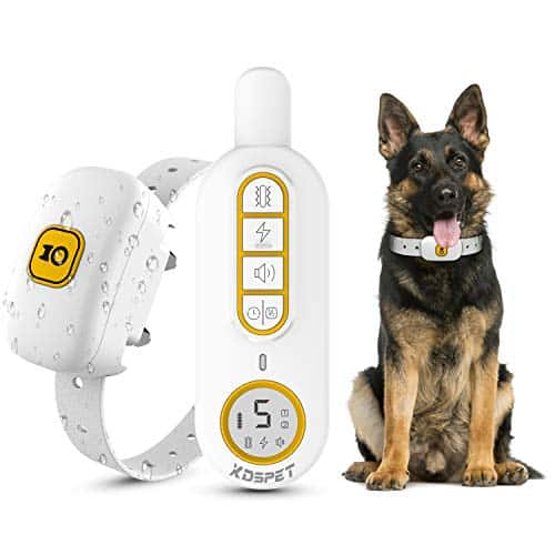 KOSPET Rechargeable Dog Shock Collar with Remote