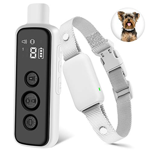 Bousnic No-Shock Dog Training Collar with Remote